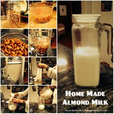 Almond Milk Made Easy - Powered by @ultimaterecipe