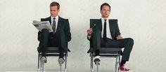 Harvey Specter & Mike Ross || Gabriel Macht & Patrick J Adams Suits