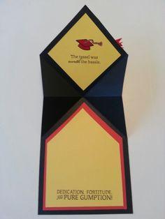 Fred's Graduation Card - Inside