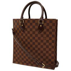 Auth-Louis-Vuitton-Tote-Bag-Shoulder-Bag-2-Way-Damier-Sac-Plat-PM-GR-1501148