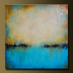 Weathered 2  30 x 30  Abstract Acrylic by CharlensAbstracts, $325.00