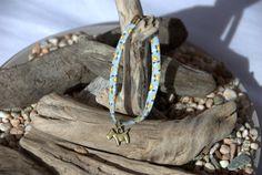 """Bracelet Liberty avec breloque """"Chien"""" bronze : Bracelet par bouloche-et-cie Inspiration Corse"""