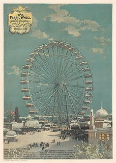 06/21/1893 - The Ferris Wheel was introduced at the World's Columbian Exposition in Chicago, IL.. With a height of 80.4 metres (264 ft) it was the largest attraction at the World's Columbian Exposition in Chicago, Illinois.