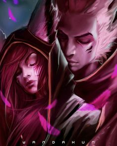 Rakan the Charmer and Xayah the Rebel - League of legends