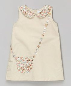 Zulily Handbag Appliqued Dress Perfect examples of how to wear children's clothes - Nähen - Baby Clothes Baby Outfits, Kids Outfits, Little Dresses, Little Girl Dresses, Baby Dresses, Dress Girl, Fashion Kids, Womens Fashion, Toddler Fashion