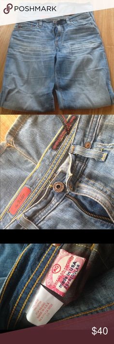 AG the Rider jeans Worn in good condition no damage 100% Cotton length is 31 1/2 AG Adriano Goldschmied Pants Straight Leg