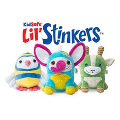 KidSafe Lil' Stinkers Aroma Plush Set of 3   Signature Blends *** Want additional info? Click on the image. (Note:Amazon affiliate link)