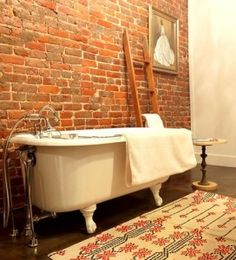 There are two things I want in life: happiness and an exposed brick wall.