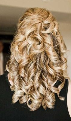 Half-Updo Hairstyle Ideas for Long Hair – Haircuts and hairstyles for 2017 hair colors trends for long short and medium hair