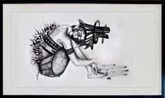 Minien Hattingh | Emerging Artists South Africa | StateoftheART Online Art Gallery, Surrealism, South Africa, African, Artists, Ink, Drawings, Sketches, Artist