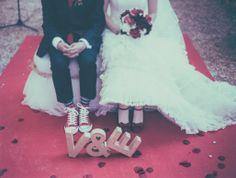 zapatos rojos en mi #boda vintage