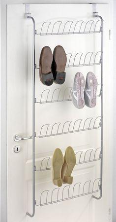 Range chaussures porte étagère 18 paires  http://www.homelisty.com/rangement-chaussures/