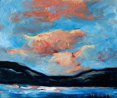 Lago Maggiore V / Öl auf Leinwand / 50 x 60 cm / 2017 /  Detlev Foth