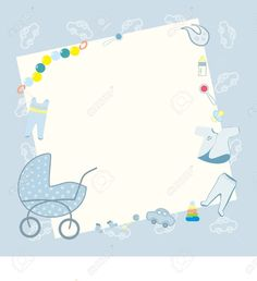 Baby Invitations, Baby Shower Invitations For Boys, Baby Boy Background, Welcome New Baby, Free Baby Shower Printables, Baby Event, Baby Shower Invitaciones, Baby Frame, Baby Banners
