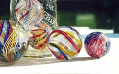 Free Marble Appraisals and Identification, Buy and Sell Marbles Marbles Images, Marble Pictures, Still Life Artists, Photorealism, Glass Marbles, Antique Glass, Glass Collection, Vintage Buttons, Be Still