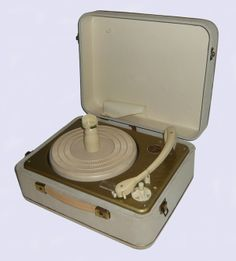 Triotrack XB900 portable record player, 1962