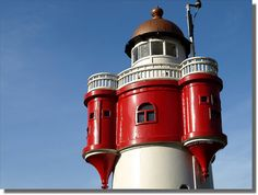 "Lighthouse ""Red Sand"""