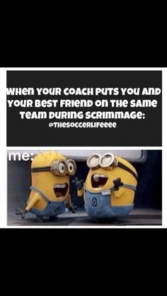 This is what happens whenever I am on a team with Lexi!