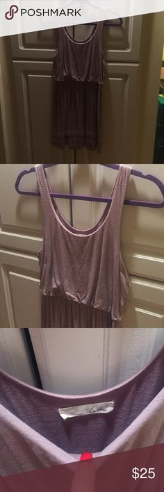 Nordstrom Sundress Light and comfortable purple Lush by Nordstrom dress with tiered bottom and cinched waist. Lush Dresses
