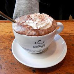 Ciocolata Calda is a delicious Italian hot chocolate drink.