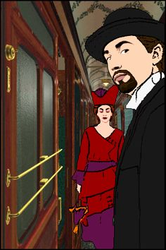 The Last Express - A classic PC adventure game of the 90s.  Big favorite!