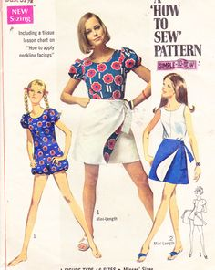 Jumpsuit pattern from the 1960's....