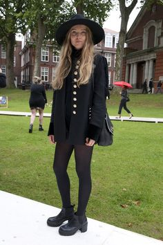London Fashion Week Spring 2014 Attendees Pictures - StyleBistro