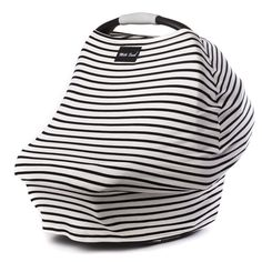 Milk Snob Cover MILKY STRIPE. Perfect nursing/car seat cover.