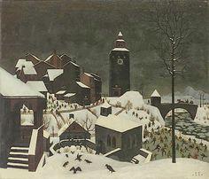 Franz Sedlacek, Winterlandschaft, 1925
