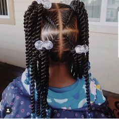 """Hi, here are some """"Unique Braided Hairstyles for Kids."""" They are all a perfect hairstyle with a perfect fitting. Cute Little Girl Hairstyles, Black Kids Hairstyles, Baby Girl Hairstyles, Natural Hairstyles For Kids, Natural Hair Styles, Curly Hair Styles, Toddler Hairstyles, Unique Braided Hairstyles, Weave Hairstyles"""
