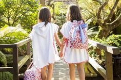 bolsa y toalla niñas