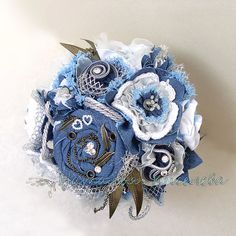 Denim Flowers, Burlap Flowers, Leather Flowers, Lace Flowers, Felt Flowers, Fabric Flowers, Tissue Flowers, Shabby Chic Flowers, Fabric Brooch