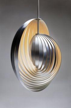 lampara concha espiral