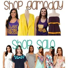 If you need gameday gear or a great outfit for tomorrow give us a shout! We can arrange a delivery or pickup if you're nearby.  #Estella #instafashion #ootd #lotd #louisiana #lsu #gameday #style #fashion #gramercy #lutcher #paulina #tigers #nola #saints #wiw #wiwt