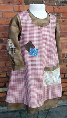 We have a tan gingham dress in the costume room from Wizard of Oz that could be used for this, possibly. Cute Costumes, Girl Costumes, Dance Costumes, 1930s Costumes, Broadway Costumes, Theatre Costumes, Set Theatre, Theatre Props, Oliver Twist Characters