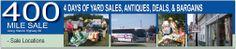 400 mile Yard sale through Kentucky