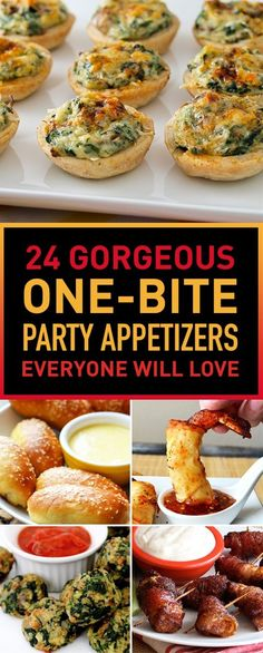 Food is what keeps your guests entertained and happy at parties. A party is never complete without a delicious selection of hors d'oeuvres. If you're searching for easy appetizer ideas that will please your party guests look no further! We chose for you in this list a wide variety of appetizers that are tasty and easy to make. These easy appetizers will make your next party a stress-free and still wow your guests. Let's get the party started!