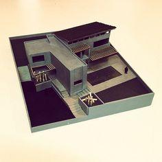 CaSA PADELFORD Maqueta 01 by CoRR3A arquitectos, via Flickr