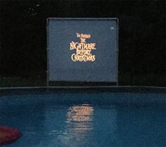 outdoor movie at home