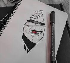 Naruto Drawings, Naruto Sketch Drawing, Anime Drawings Sketches, Cool Art Drawings, Naruto Art, Pencil Art Drawings, Anime Sketch, Naruto Shippuden Sasuke, Itachi Uchiha