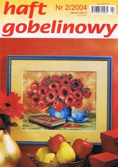 (1) Gallery.ru / Фото #1 - 2004 02 - tymannost Cross Stitch Magazines, Finding Yourself, Embroidery, Books, Projects, Painting, Journals, Cross Stitch, Dots