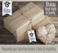 En #Blukau hacemos envíos a toda la República Mexicana.