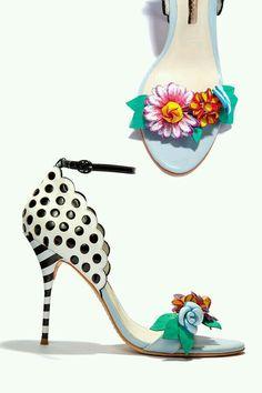 Sophia Webster.. polka dots, stripes & floral