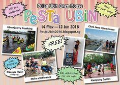 Pesta Ubin 2016  Explore Pulau Ubin as you kayak, cycle or walk in this 5-week long festival