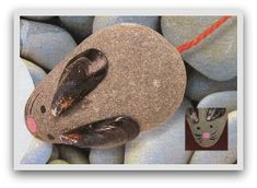 Pebble + Mussel-shell ears ___ _____ ____ ___ craft faces preschool and k crafts homeschooling Shell Crafts Kids, Easy Crafts For Kids Fun, Crafts For Seniors, Toddler Crafts, Projects For Kids, Art For Kids, Craft Projects, Project Ideas, Seashell Crafts