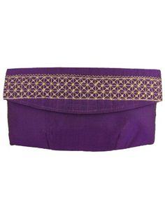 Mujeres de regalos hechos a mano bolsos bordados de tela viscosa del embrague: Amazon.es: Zapatos y complementos