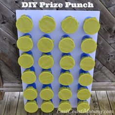 I teach third through fifth, depending on the year. Creating incentives that both my students and I were happy with was always a bit difficult for me, until this. I made a punch-it wall: Once a student gets enough stickers on their incentive charts, they get to pick a covered cup, punch it in, and get a paper strip with an incentive for them. It's a win-win situation.—milkteapapiLearn how to make your own simple punch wall on East Coast Mommy.
