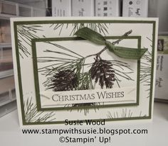 Stamp with Susie: More 'Ornamental Pines'