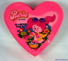 1980's Toys - Poochie Glamour Nails. I actually have a pic of me holding it sitting on my moms lap...lol