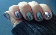 Express Your Love of Shirtless Teenage Wolves with These Claw Mark Nails -- Actual article title, bless.